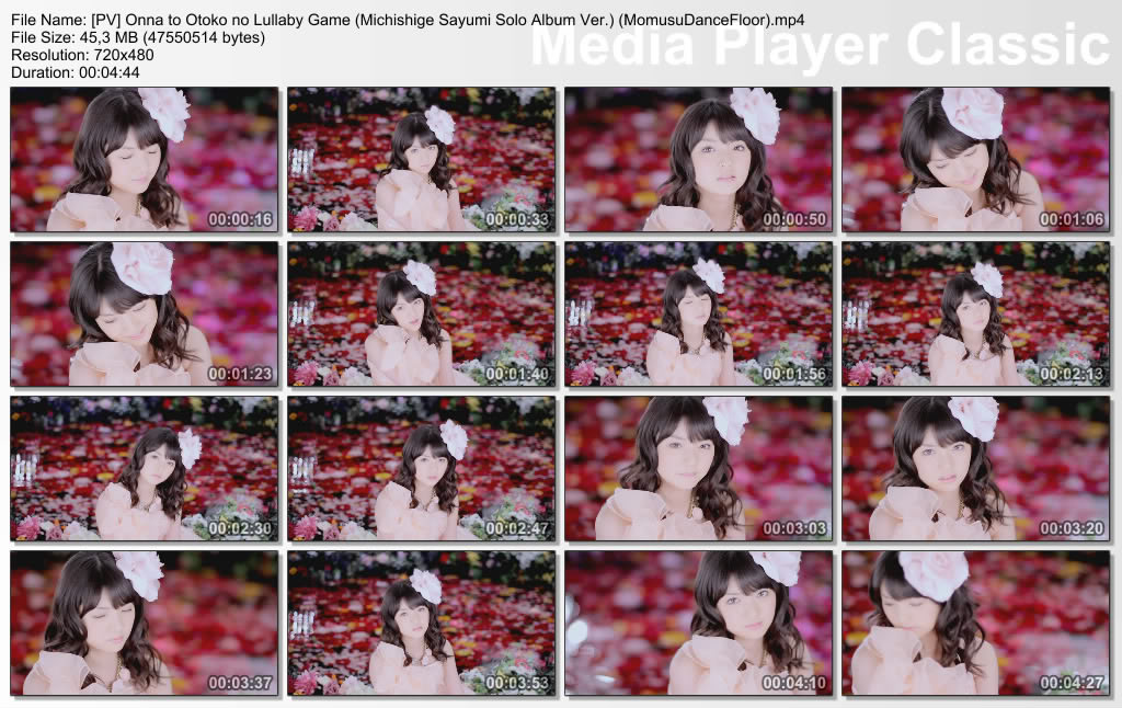 Morning Musume - Onna to Otoko no Lullaby Game [Making + Dance vers + Solo Album Vers] PVOnnatoOtokonoLullabyGameMichishigeSayumiSoloAlbumVerMomusuDanceFloormp4_thumbs_20110223_203152