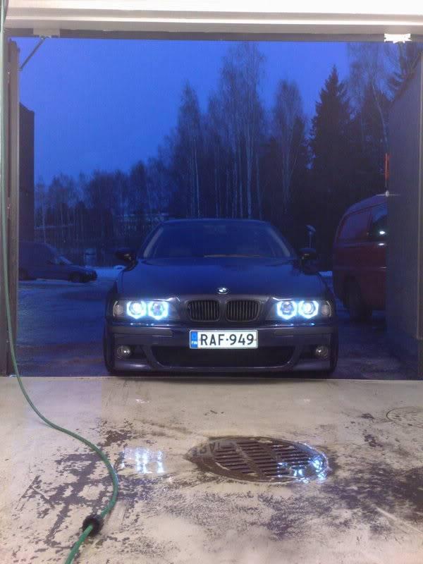 """BMW e39 """"RAF"""" (m50b25 imusarjan modaus) 09022009369"""