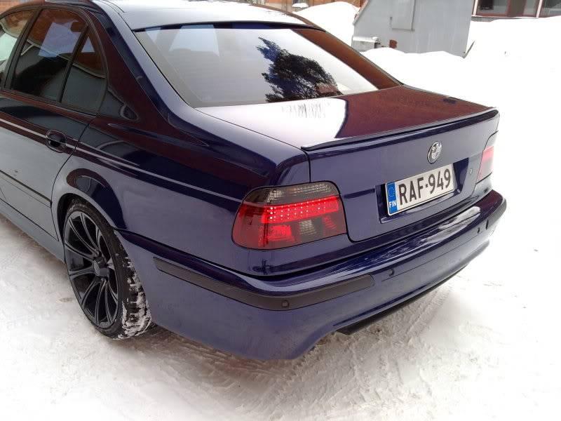 """BMW e39 """"RAF"""" (m50b25 imusarjan modaus) 13022010084"""