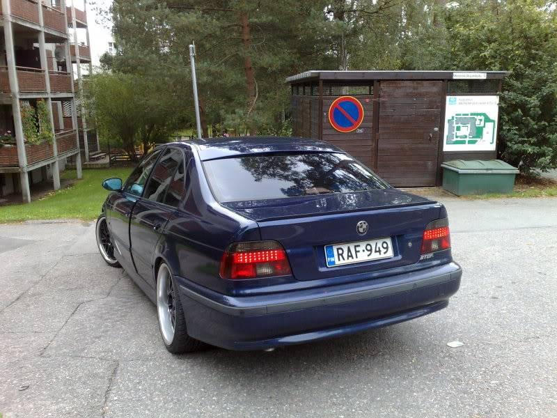 """BMW e39 """"RAF"""" (m50b25 imusarjan modaus) 18092009695"""