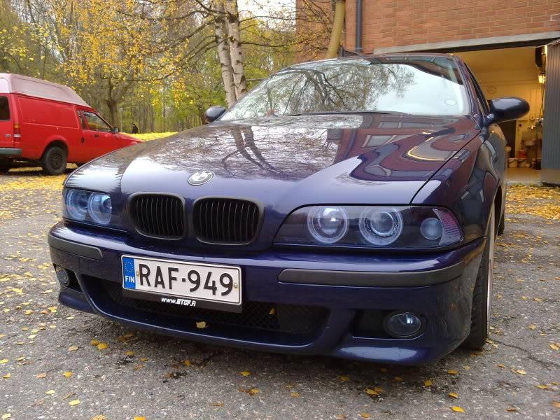 """BMW e39 """"RAF"""" (m50b25 imusarjan modaus) 22102010072"""