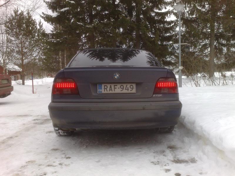 """BMW e39 """"RAF"""" (m50b25 imusarjan modaus) 07032009399"""