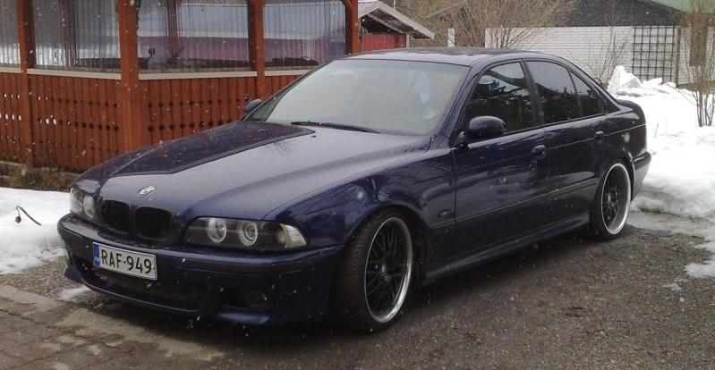 """BMW e39 """"RAF"""" (m50b25 imusarjan modaus) Ss"""