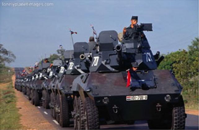 Armée paraguayenne Cascabel_Py