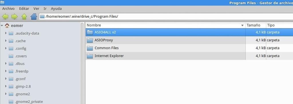 Configurar Foobar en Linux para reproducción bitperfect  Asio