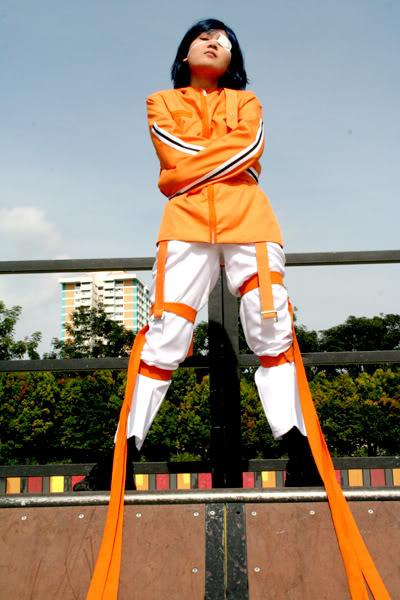 [Air Gear] Wanijima Akito Orange Straitjacket [SOLD] 000kt60c