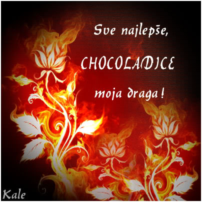 Chocolate, sreæan rodjendan Choko