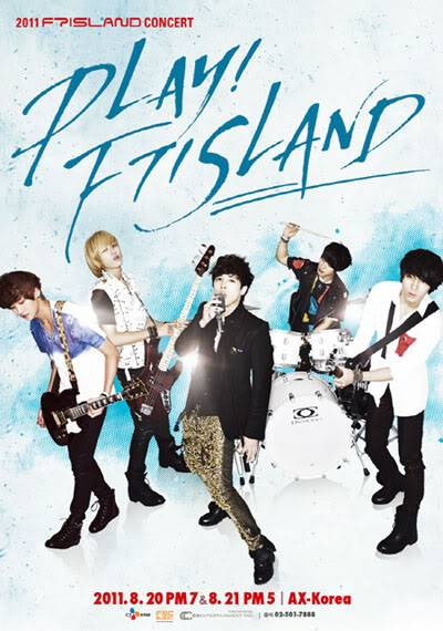 [F.T. Island]Tickets for F.T. Island's upcoming concert sell out in 10 minutes! 20110707_ftisland_concert_poster