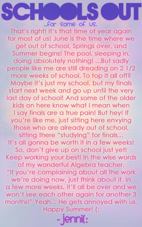 BP T I M E S { Issue 7 BPTimes-SchoolsOutKinda