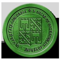 Annonces officielles du Conseil Ducal du Bourbonnais-Auvergne - Page 3 Sceaubourbonnaisvert