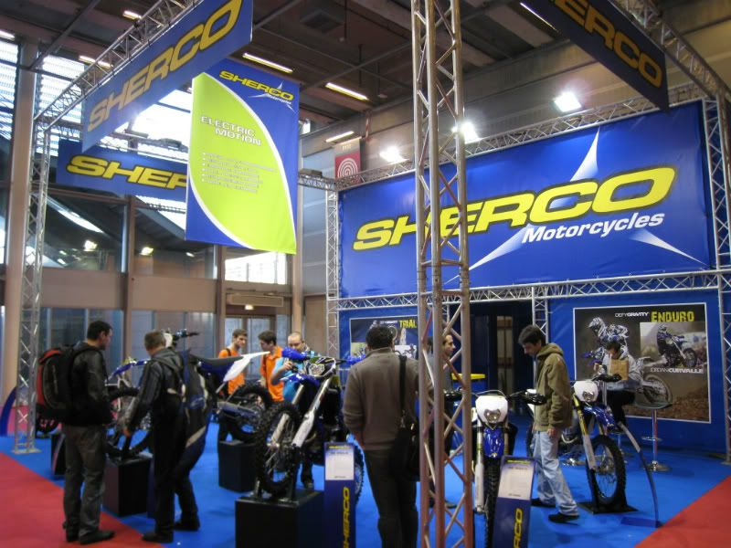 SHERCO Motorcycles (made in France !) Salon2011011