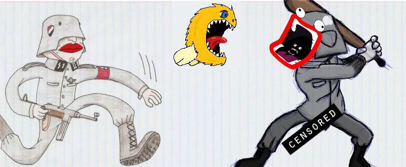 Random doodles of Awsome Censor2