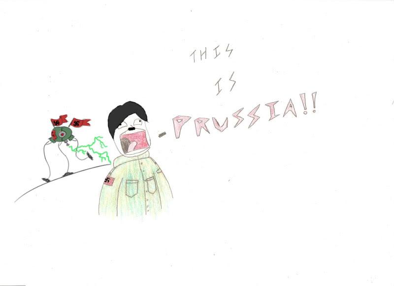 Random doodles of Awsome Prussia