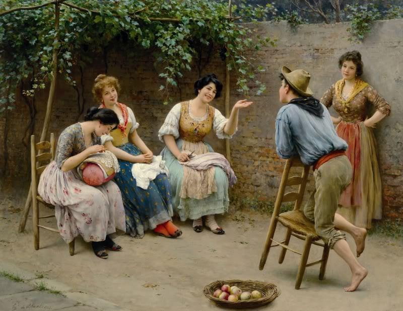 >>>El dia a dia de ayer y de hoy en la pintura>>> EugenevonBlaas