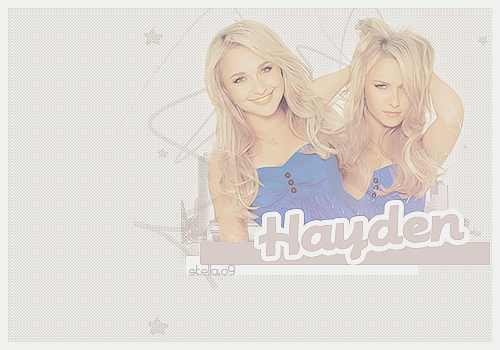 Chall Nº2 - Blend -  Hayden Panettiere Lalala