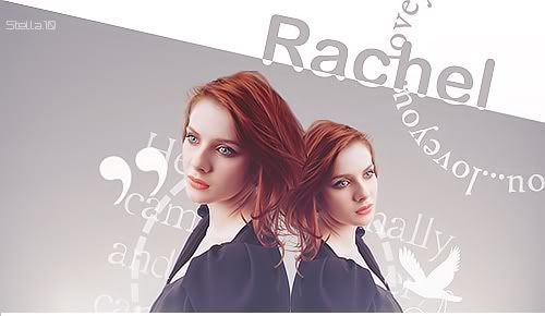 Blend Rachel Hurd-Wood by Stella. Rachelhurdwood