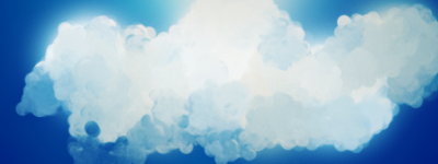 Alright so I made some clouds Clouds