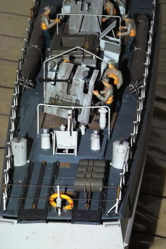 Schnellboote S-100 de Revell au 1/72 par pascal 72 - Page 2 Sb3