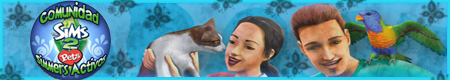 :: Blacky Dog & Oliver Cat by Yare ::  Bannercito