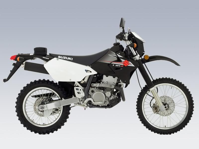 Motorcycles Dr-z400eBlack-side