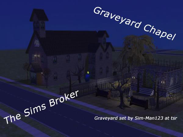 The Sims Broker GraveyardChapel