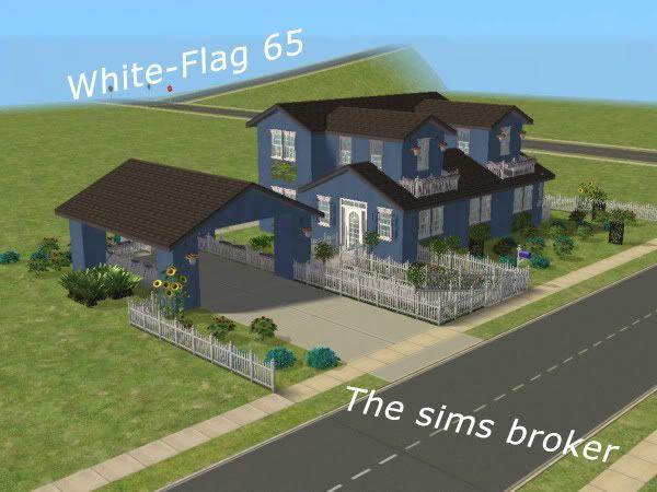 The Sims Broker White-flag65