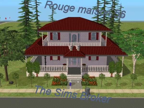 The Sims Broker Rouge