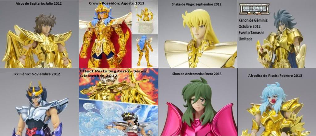 Historial de figuras Myth Cloth Myth2