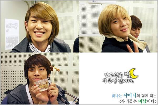 [Radio] 101028 Onew, Jonghyun, Taemin - MBC Radio 1288234142night41101028