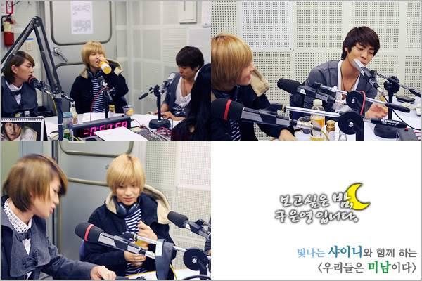 [Radio] 101028 Onew, Jonghyun, Taemin - MBC Radio 1288234142night411010282