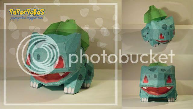 POKEDOLLS - update 25/03 Bulbasaur_Doll_Papercraft_by_Lyrin_