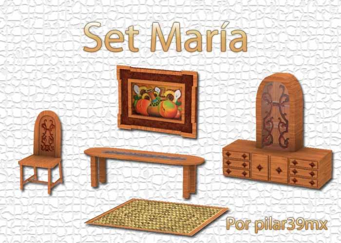 Set María por pilar39mx PresentacionMara