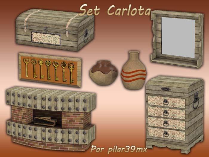 Set Carlota por pilar39mx Presentacioncarlota