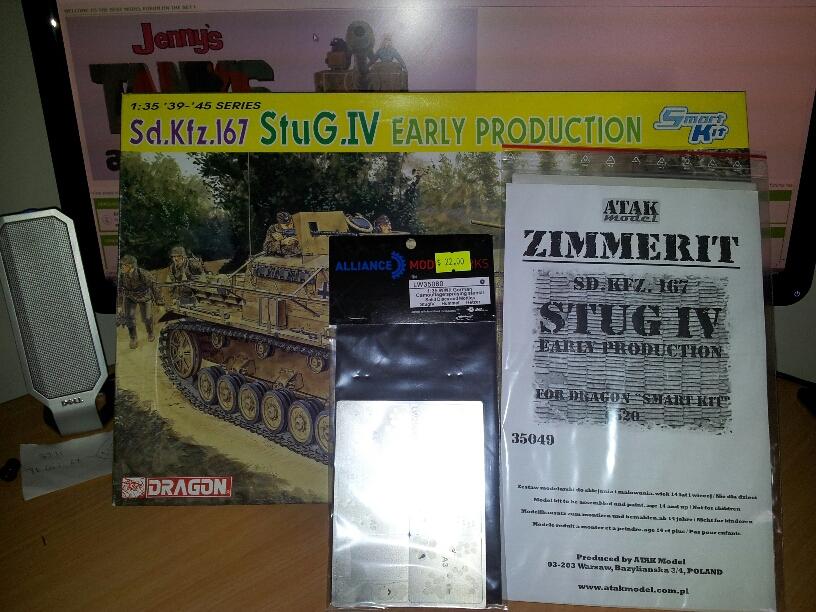 Dragon StuG IV early smart kit. 20121103_141041_resized