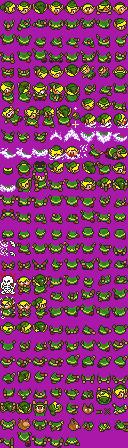 Nintendo power Legend of zelda, a link to the past link sprites Zeldanintendopowersprites_zpsb5a0cee7
