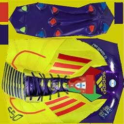 Boots by taraji AdidasF50AdizeroLeatherElecricityPurpleMessi-3