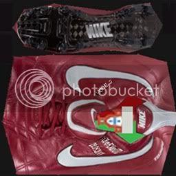 Boots by taraji NikeAirLegendTiempoIIIEliteRedSilverPique-3