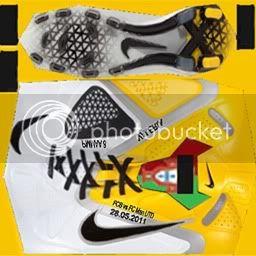 Boots by taraji NikeCTR360IIWhiteYellowBlackIniesta-1