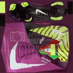 Boots by taraji NikeMercurialVaporSuperflyIIIPurpleLimeGreenWhitePedro-2