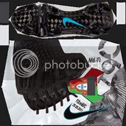Boots by taraji NikeT90LaserIIIEliteWhiteBlackWindchildRooney-3