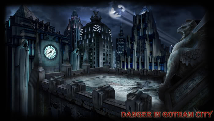 Danger in Gotham City