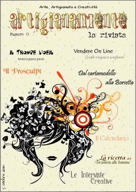Numero 0 - ArtigianalMente ~ La Rivista - Ottobre 2010 Copertina-1