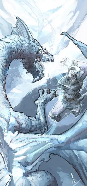 Los Dragones Blancos Dragon-cromatico-blanco-del-milegu