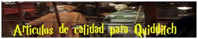 Artículos de calidad para Quidditch