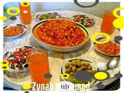 بالصور / طريقة تحضير الكسكسي الليبى   D