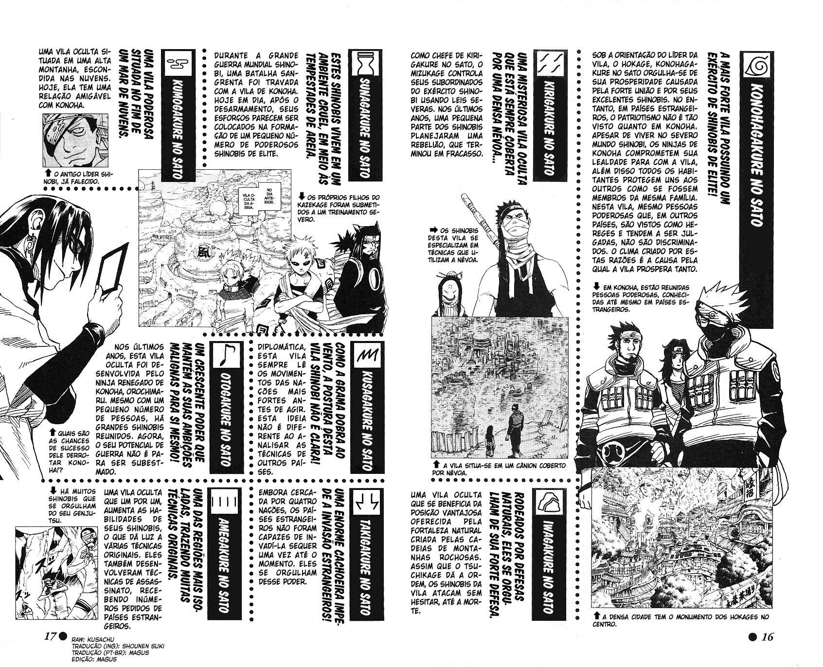 Mapa do Mundo conhecido de Naruto (Político e Físico) 016-017