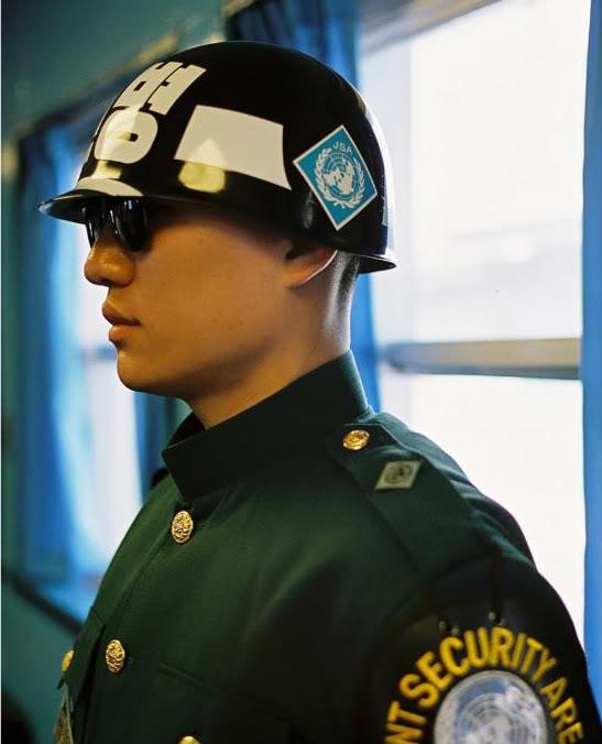 Republican Guard Helmet PANMUNJOM-DMZ-JSA-NORTH-SOUTH-KOREA-PANMUNJEOM-DEMILITARIZED-ZONE-3-ROK-SOLDIER