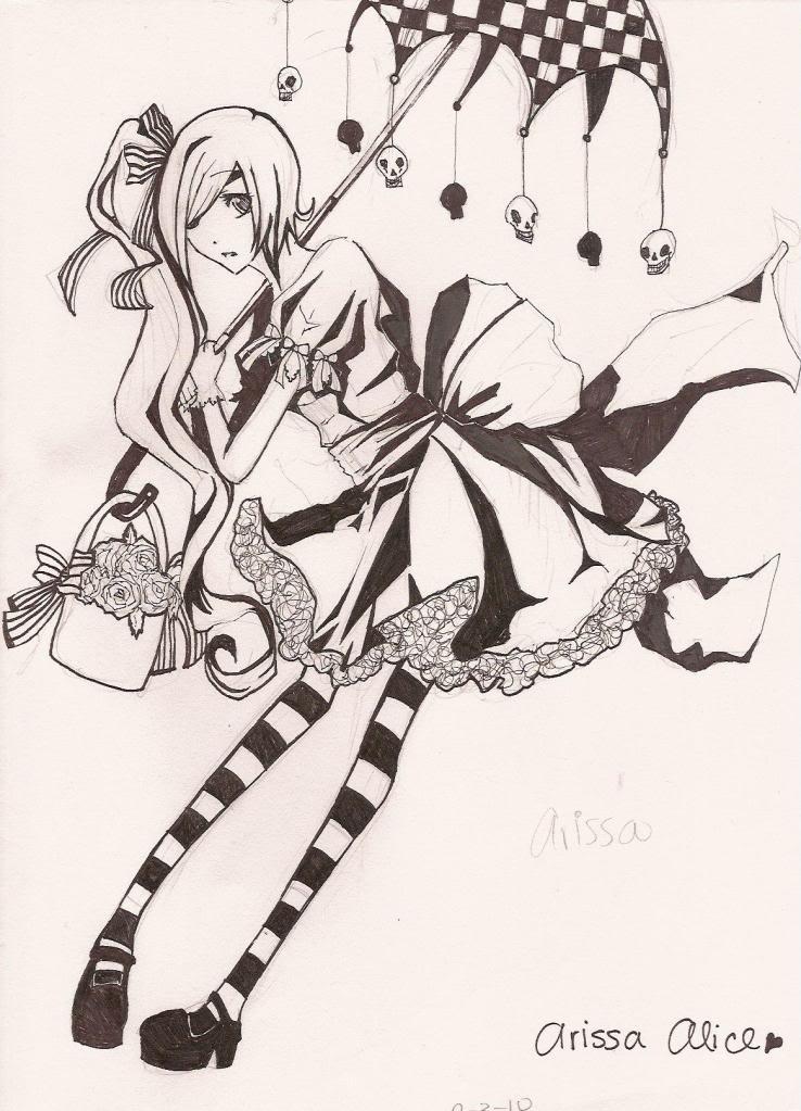 .::Black Light::. [Art Thread] AlicaAlice