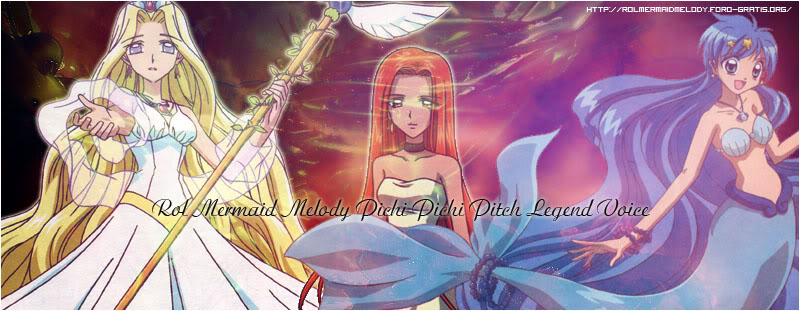 ►Mermaid Melody Pichi Pichi Pitch Legend Voice◄