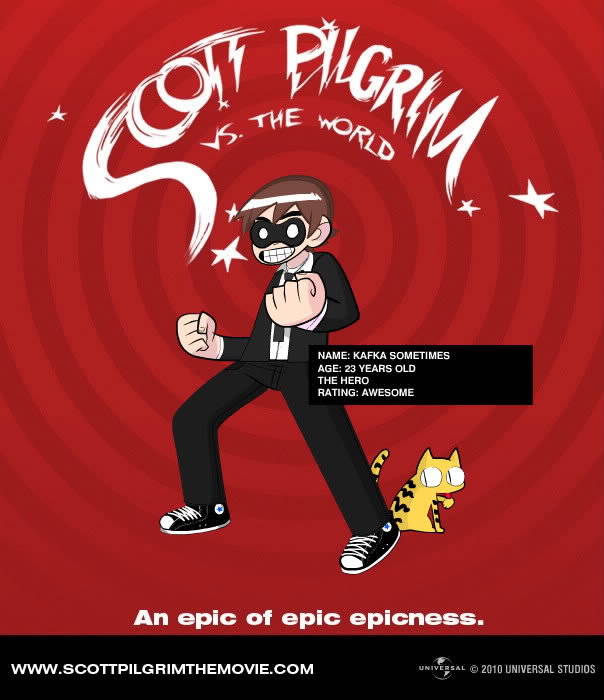30 Questions: Video Game Style ScottPilgrim